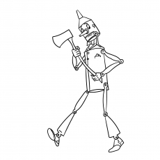 tin man coloring page the seven deadly sins coloring pages free printable page tin man coloring