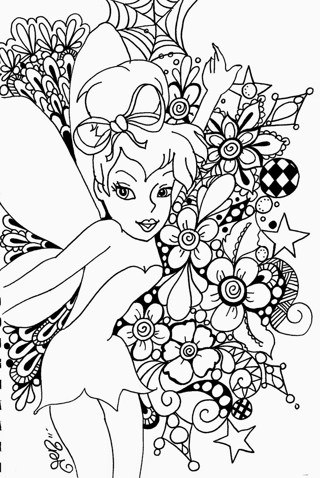 tinkerbell for coloring coloring pages tinkerbell coloring pages and clip art tinkerbell coloring for 1 1