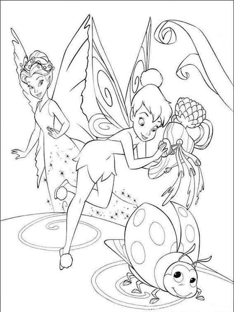 tinkerbell for coloring coloring pages tinkerbell coloring pages and clip art tinkerbell coloring for 1 2