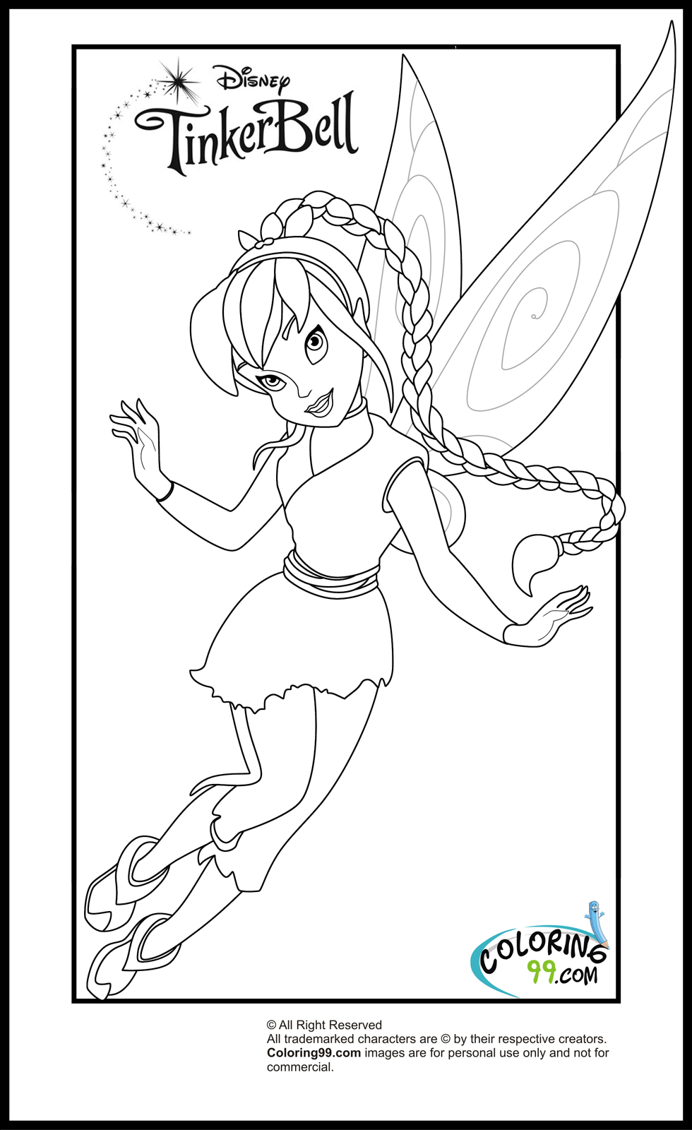 tinkerbell for coloring fairytinkcoloring3gif 11131422 tinkerbell coloring coloring for tinkerbell