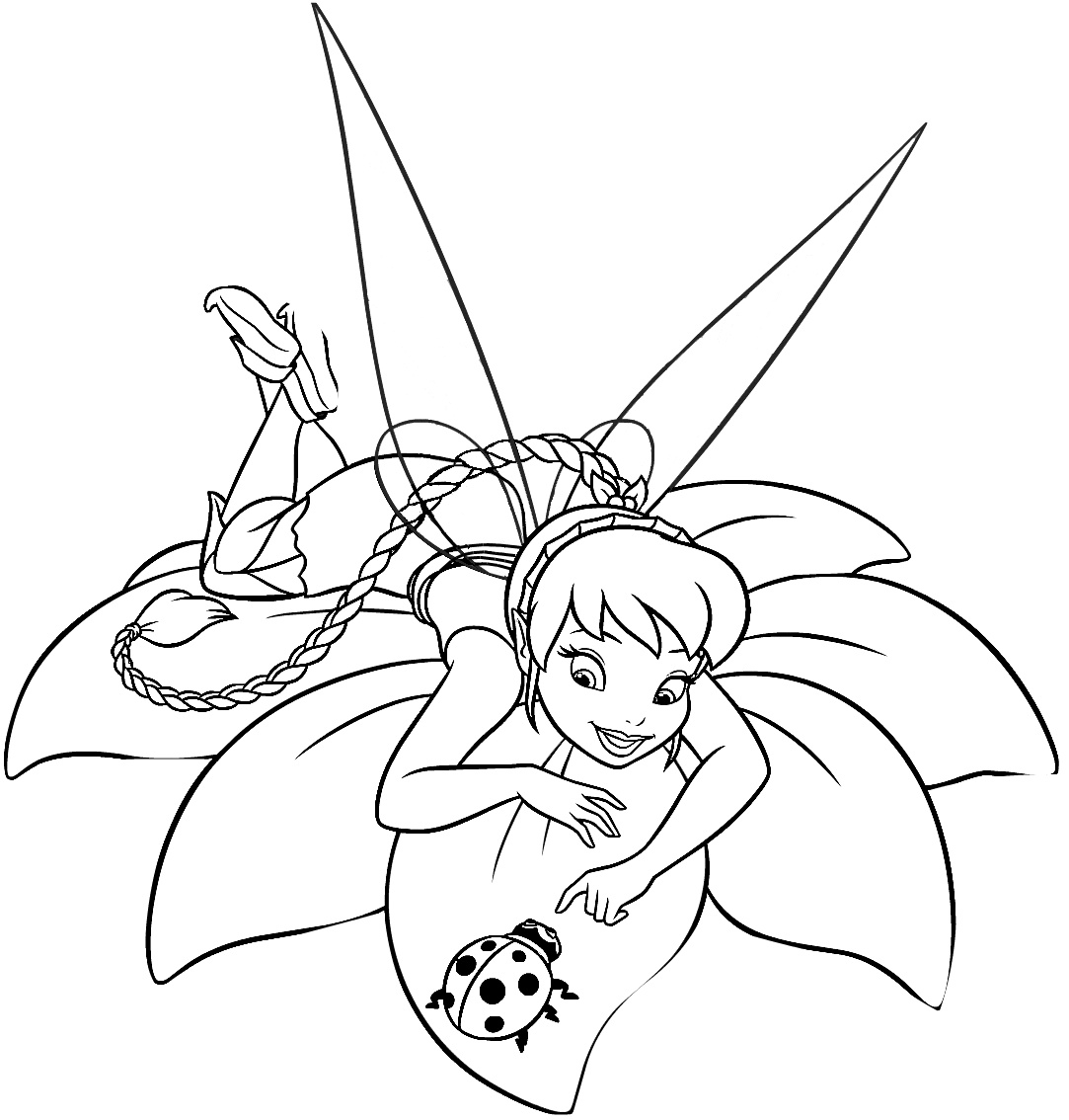 tinkerbell for coloring tinkerbell and friends coloring pages team colors tinkerbell for coloring