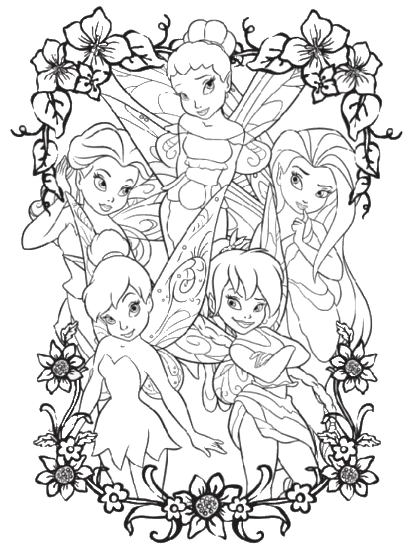 tinkerbell pictures to color 30 tinkerbell coloring pages free coloring pages free to pictures color tinkerbell