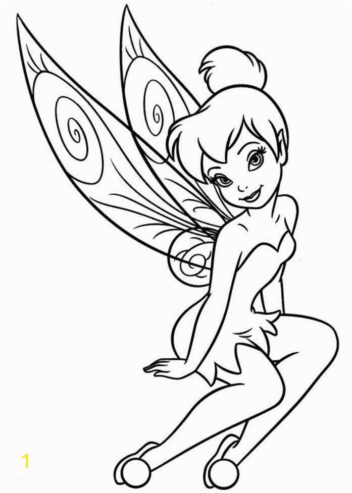 tinkerbell pictures to color coloring pages tinkerbell coloring pages and clip art to pictures color tinkerbell