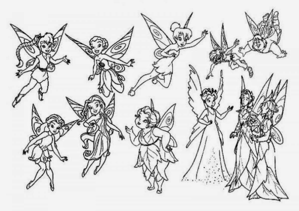tinkerbell pictures to color tinkerbell coloring pages minister coloring color tinkerbell to pictures