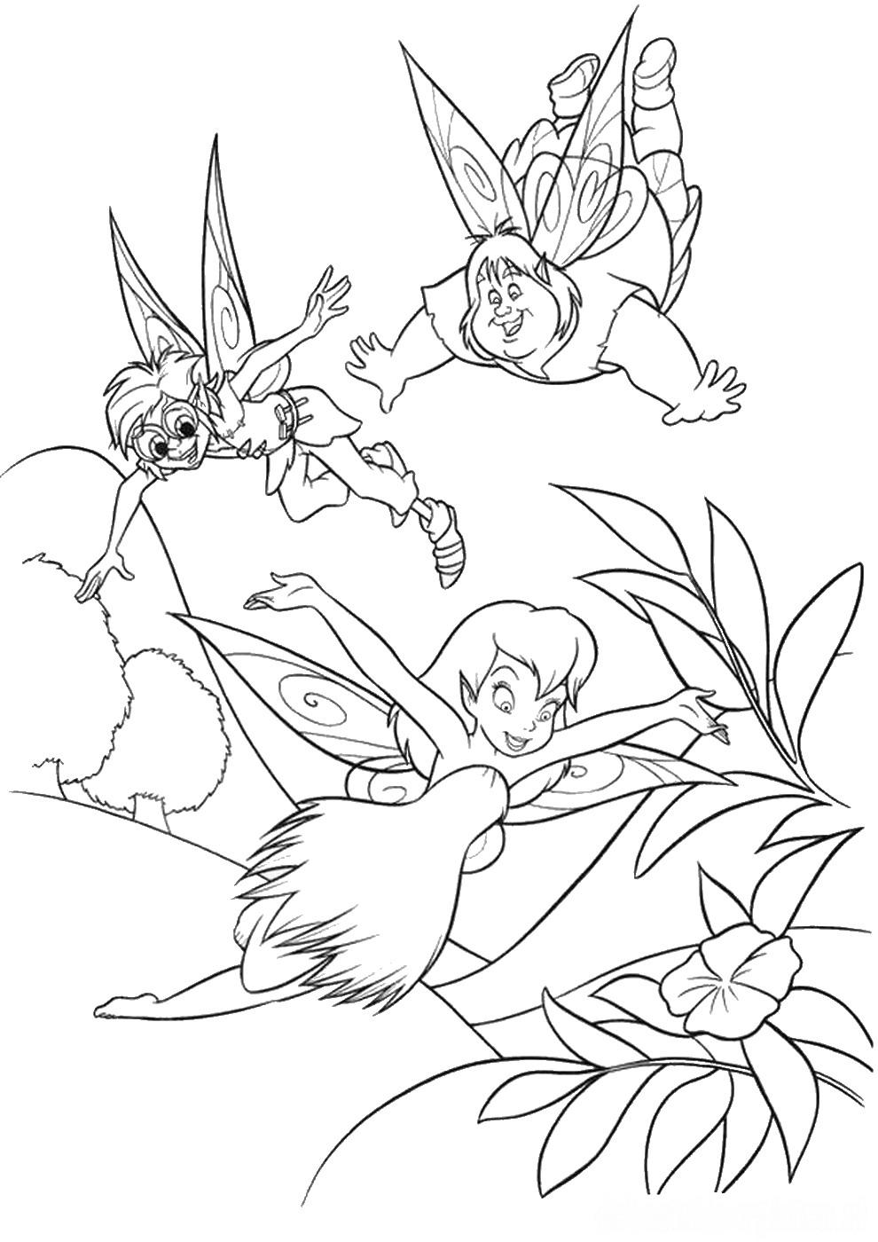 tinkerbell pictures to color tinkerbell coloring pages minister coloring color to tinkerbell pictures