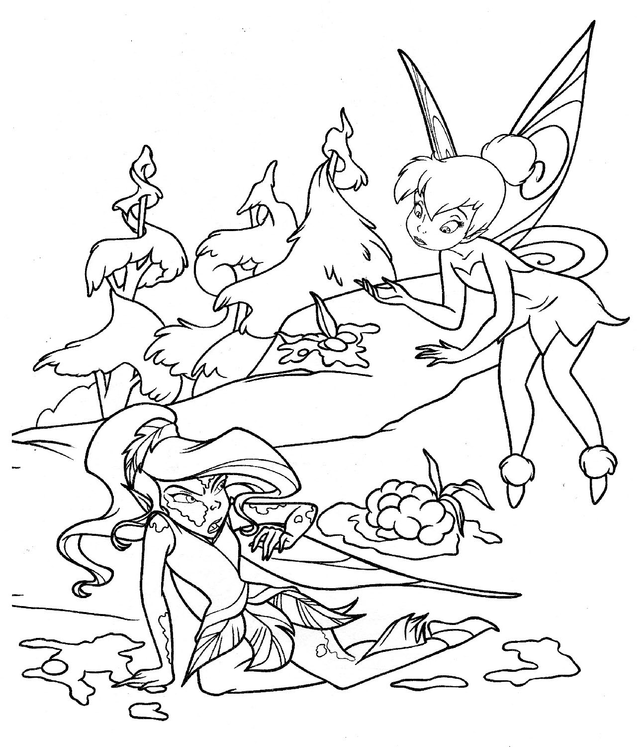 tinkerbell pictures to color tinkerbell coloring pages tinkerbell to pictures color