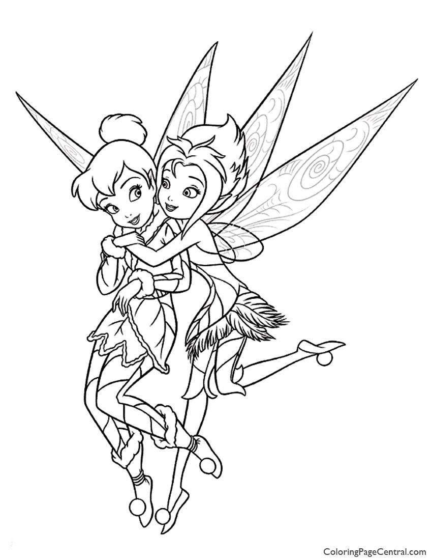 tinkerbell pictures to color tinkerbell periwinkle 03 coloring page coloring page pictures to color tinkerbell