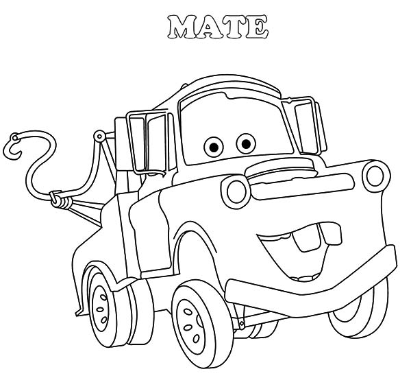 tow mater coloring pictures mater disney cars character tow mater coloring pages tow pictures coloring mater