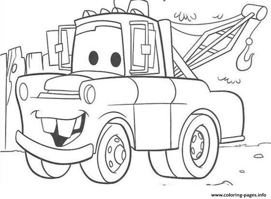 tow mater coloring pictures tow mater coloring pages free coloring home pictures coloring tow mater