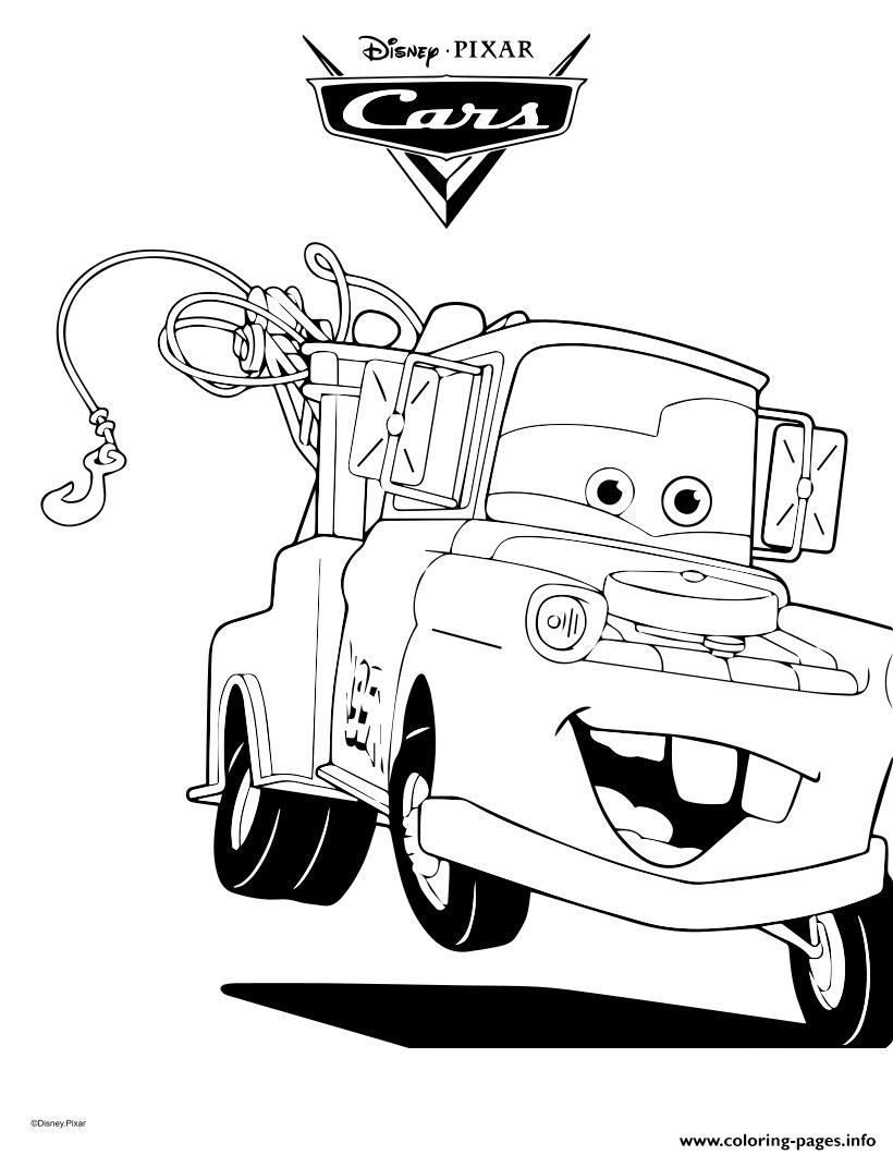 tow mater coloring pictures tow mater coloring pictures mater tow pictures coloring