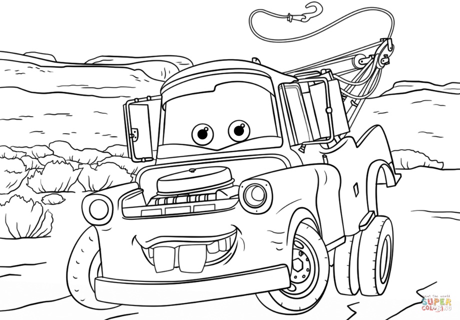 tow mater coloring pictures tow mater coloring sheets 2019 open coloring pages pictures mater coloring tow