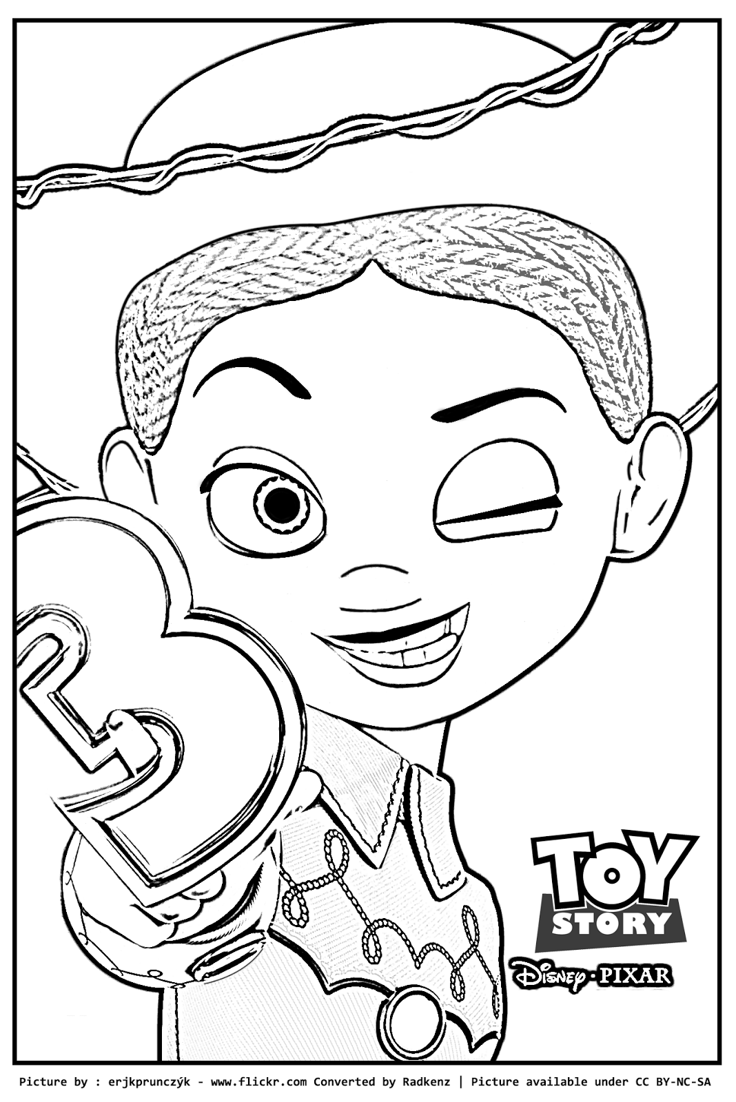toy story coloring pages toy story jessie coloring pages coloring home toy coloring pages story