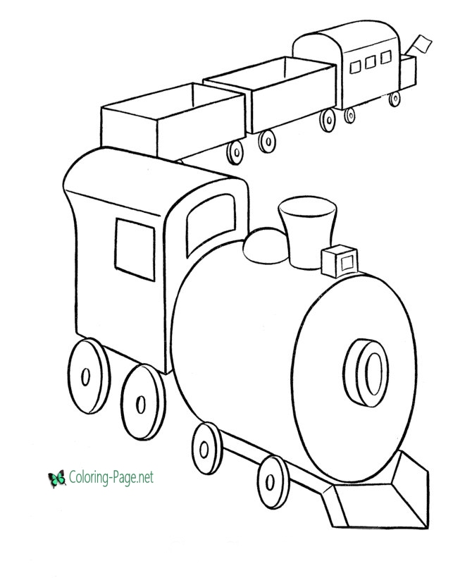 toy train coloring pages toy train drawing at getdrawings free download train toy coloring pages