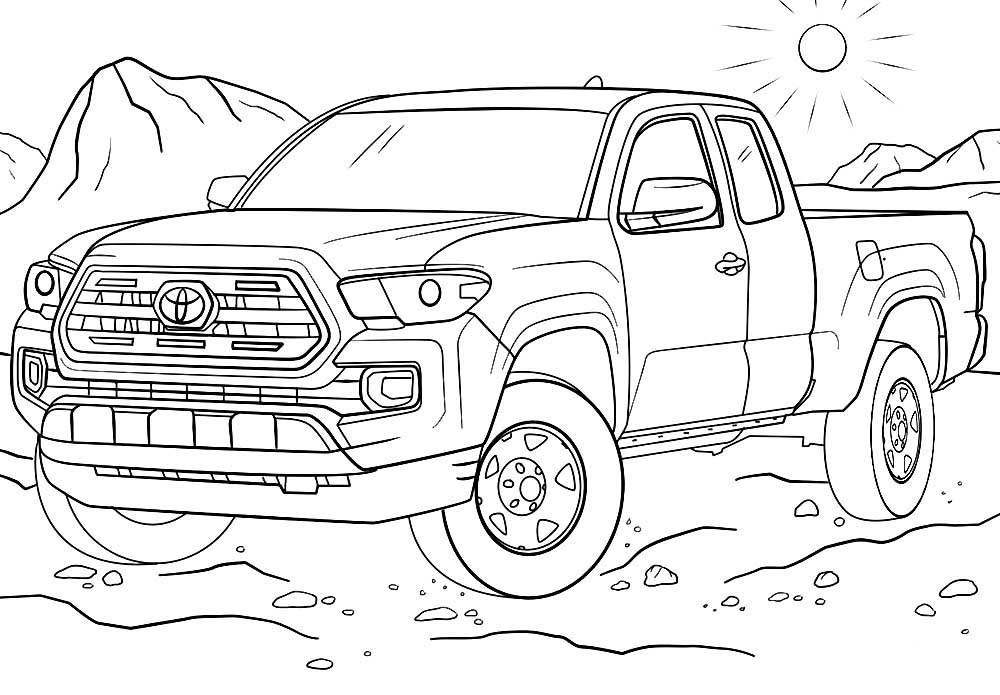 toyota car coloring pages super car toyota fsx coloring page cool car printable free car toyota coloring pages