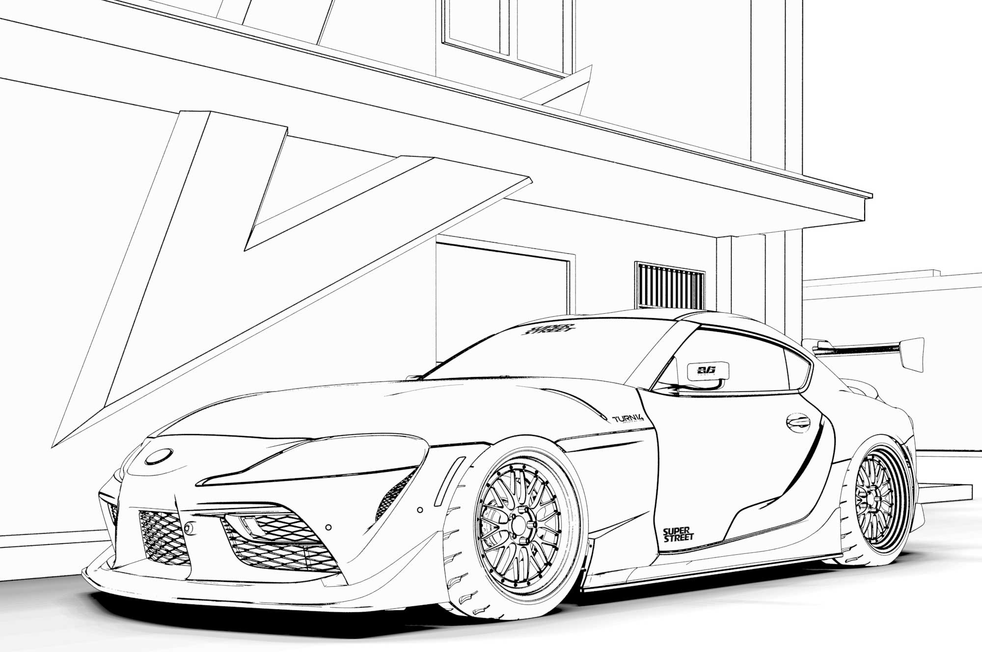 toyota car coloring pages supercars gallery sports cars printable coloring pages coloring pages toyota car