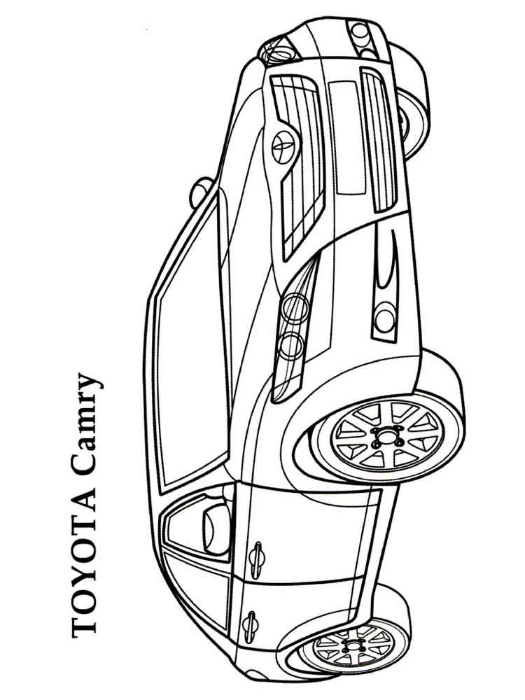 toyota car coloring pages toyota prius coloring page free printable coloring pages toyota pages car coloring