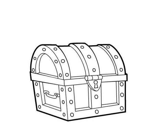 treasure chest coloring page a drawing of locked treasure chest coloring page kids chest page coloring treasure