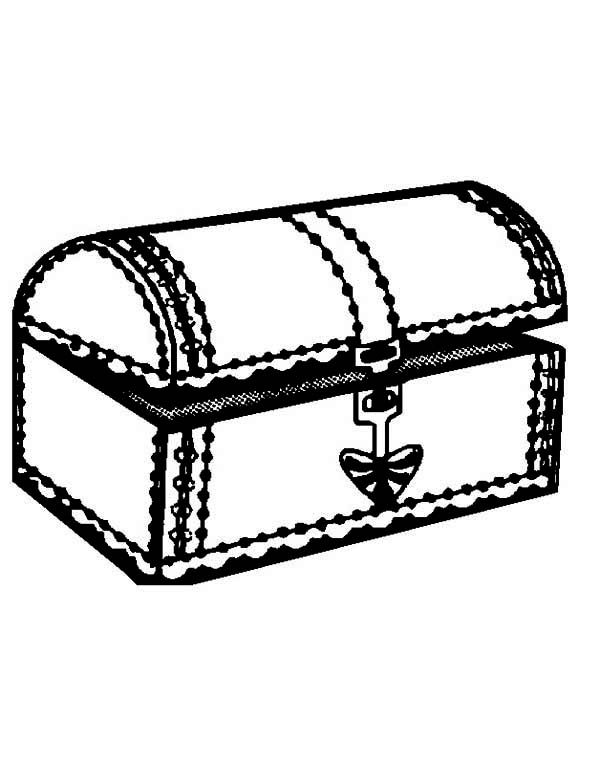 treasure chest coloring page a nearly opened treasure chest coloring page kids play color chest treasure coloring page