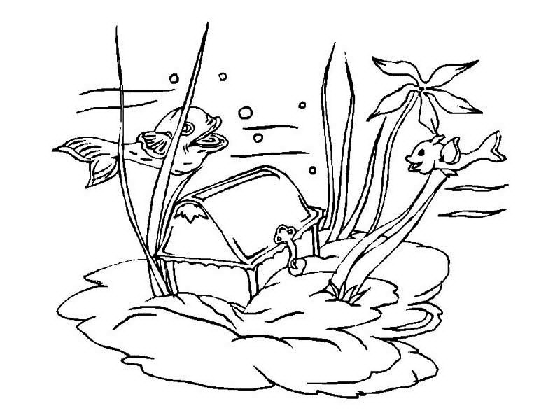 treasure chest coloring page a young pirate boy and his treasure chest coloring page page coloring chest treasure