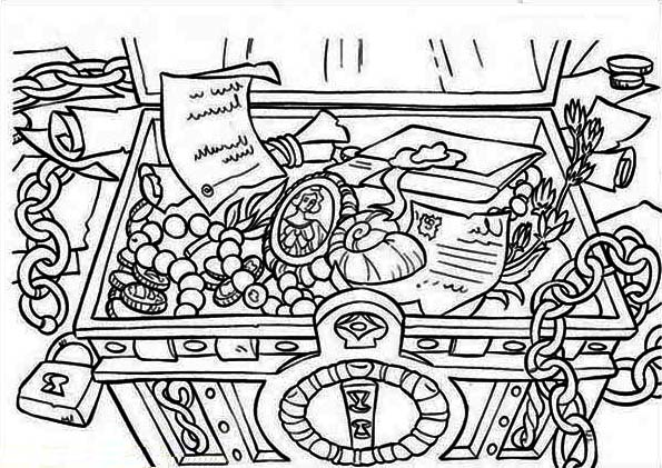 treasure chest coloring page treasure chest under the sea coloring pages sketch coloring treasure chest page