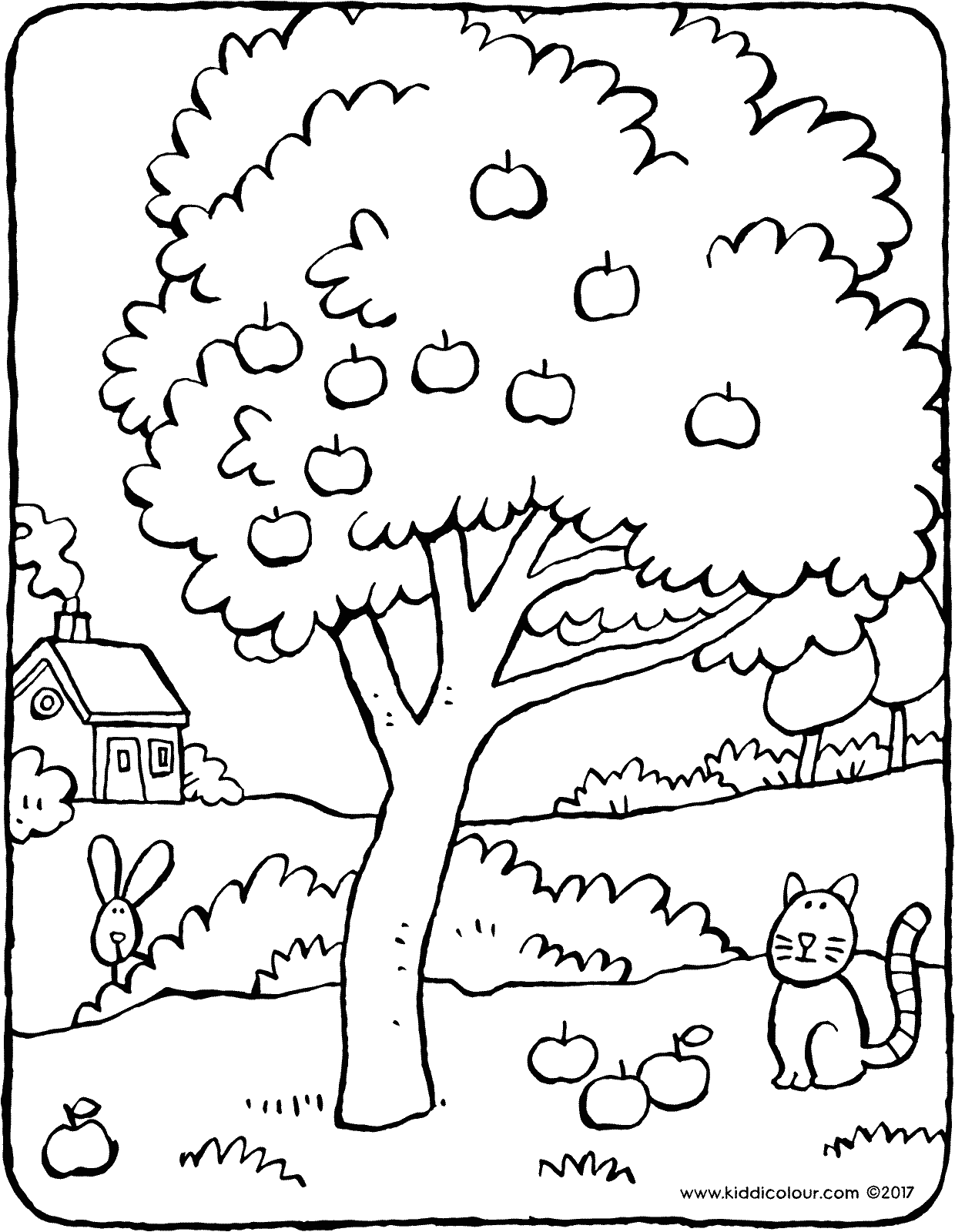 tree coloring oak tree coloring page free clip art coloring tree