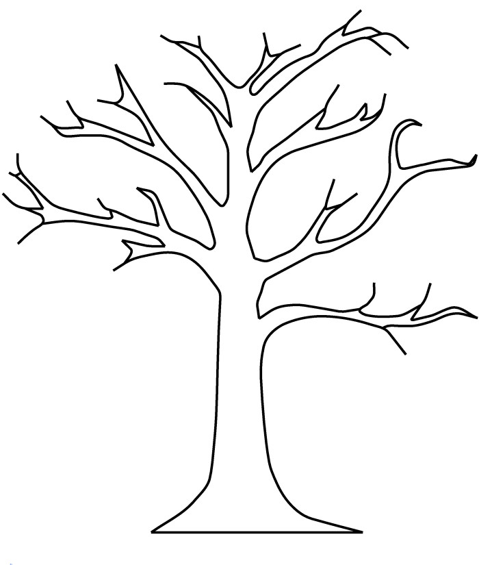 tree coloring pages 5 best images of tree trunk pattern printable tree trunk coloring pages tree