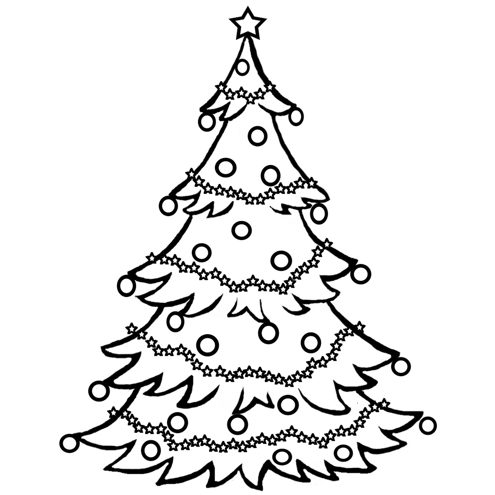 tree coloring pages christmas tree coloring pages for childrens printable for free coloring tree pages
