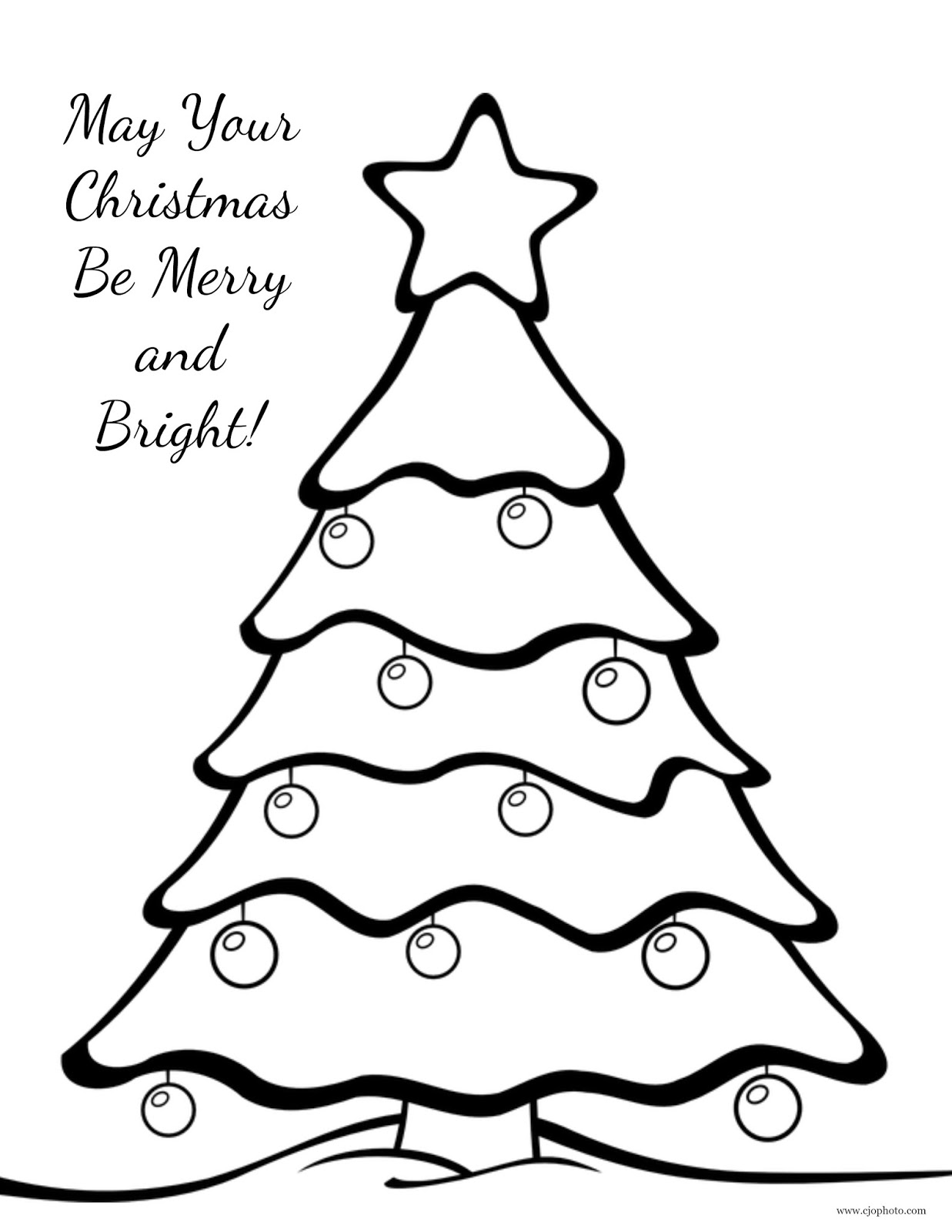 tree coloring pages cjo photo christmas coloring page christmas tree tree pages coloring