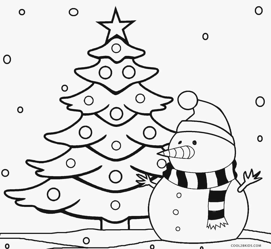 tree coloring pages printable christmas tree coloring pages for kids cool2bkids pages coloring tree