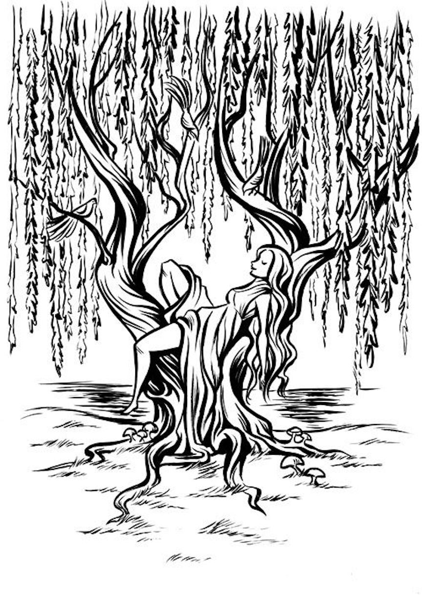 tree coloring pages tree clipart coloring pages and other free printable tree coloring pages