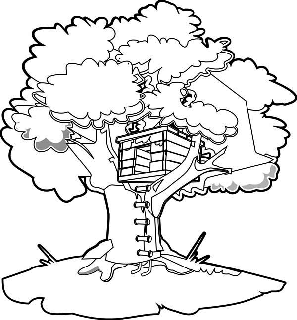 treehouse coloring pages kids n funcom 11 coloring pages of treehouse coloring pages treehouse