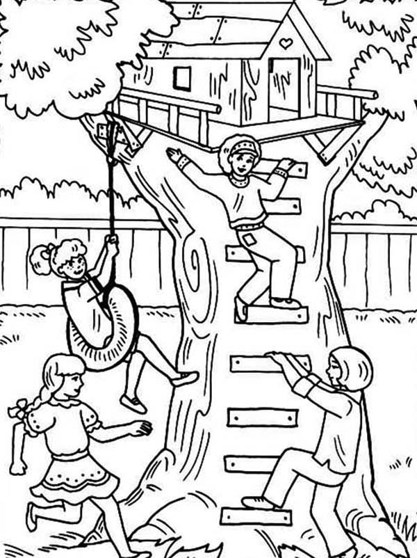 treehouse coloring pages the treehouse inks by travisjhanson on deviantart treehouse pages coloring