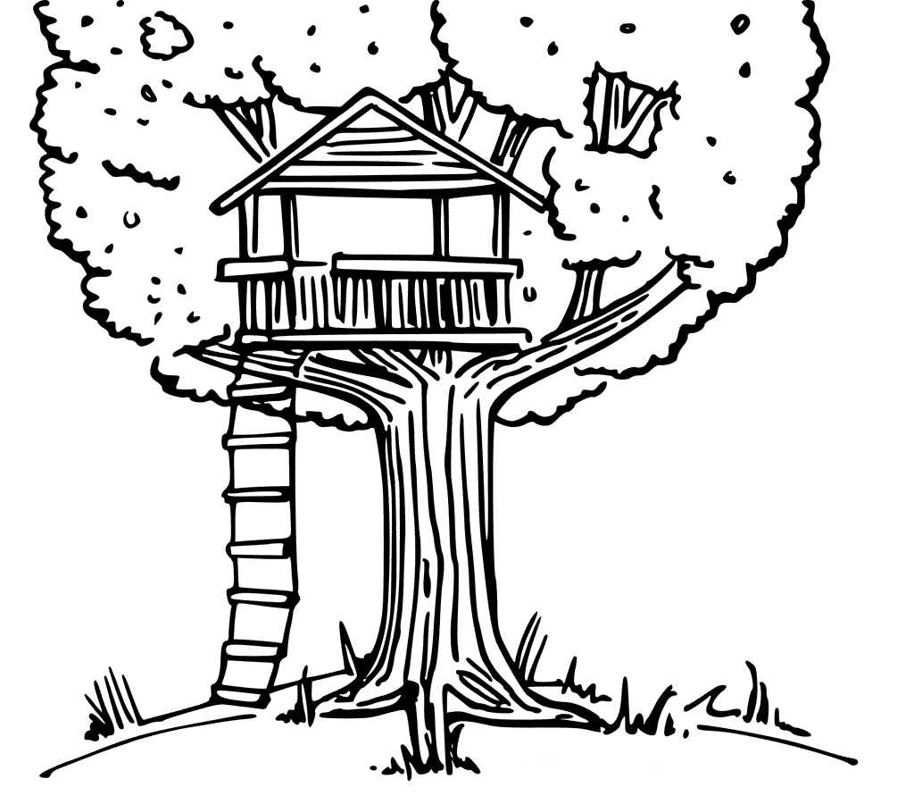 treehouse coloring pages treehouse coloring pages best coloring pages for kids coloring pages treehouse