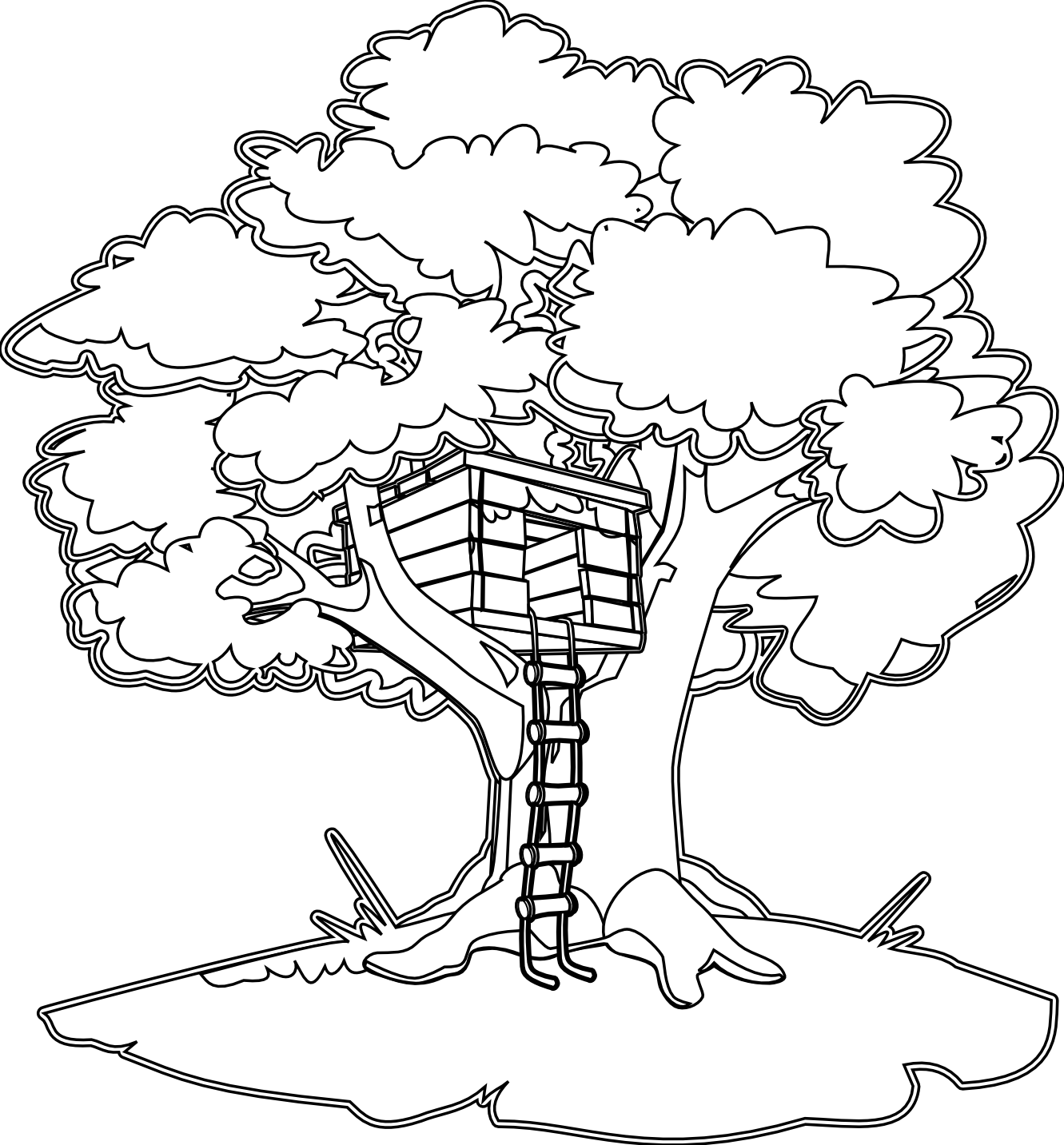treehouse coloring pages treehouse coloring pages best coloring pages for kids pages coloring treehouse
