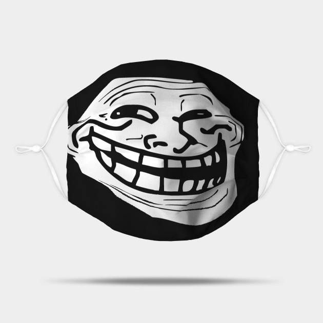 troll face mask happy troll photograph by rob hans mask troll face
