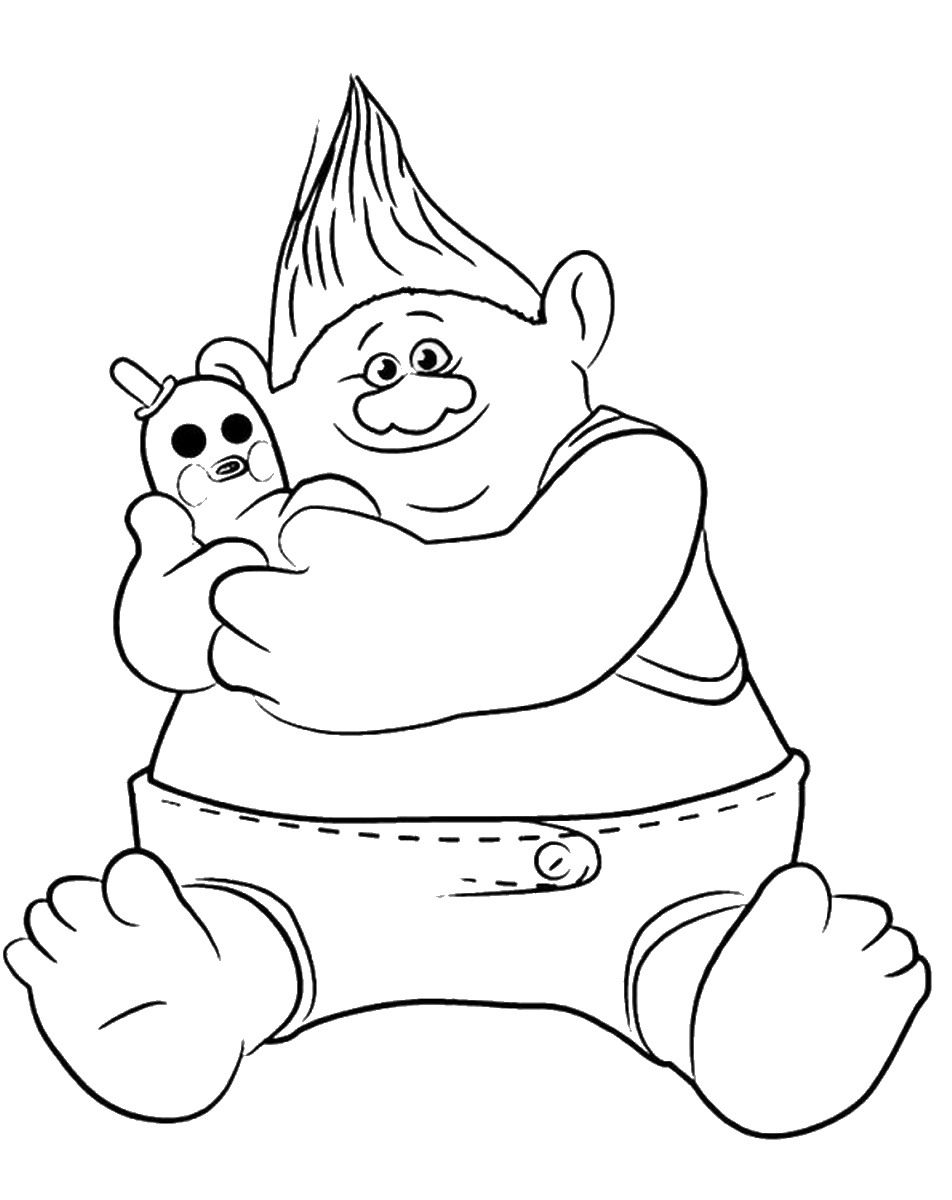 trolls smidge coloring page pin on trolls and fairies page trolls smidge coloring