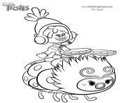 trolls smidge coloring page print smallest troll smidge coloring pages troll party trolls page smidge coloring