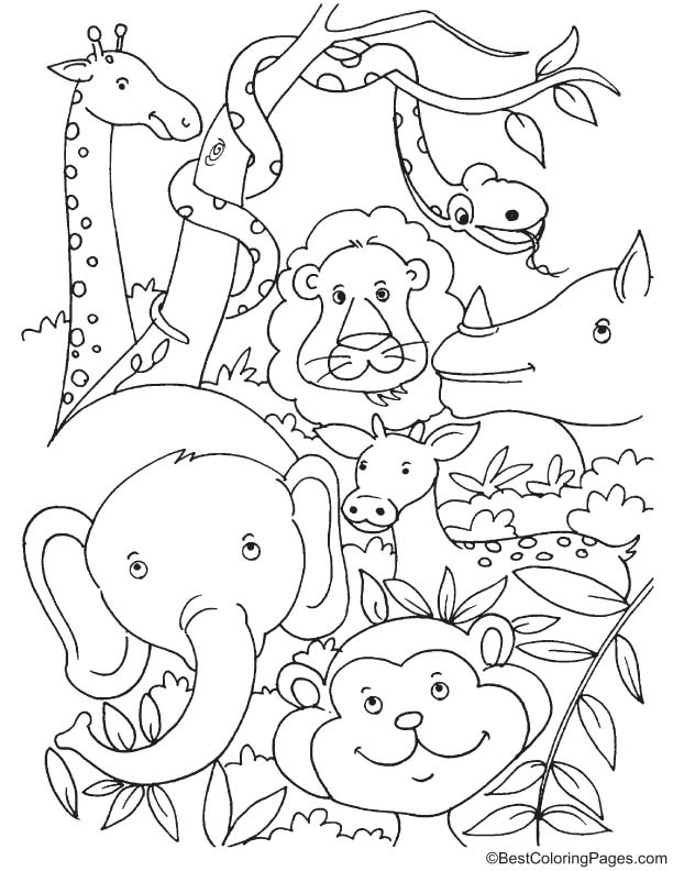 tropical coloring pages tropical bird coloring pages at getcoloringscom free coloring tropical pages