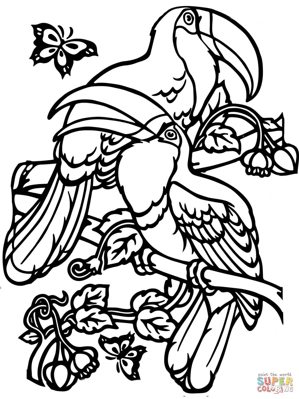 tropical pictures to color free rainforest coloring pages at getcoloringscom free to pictures color tropical