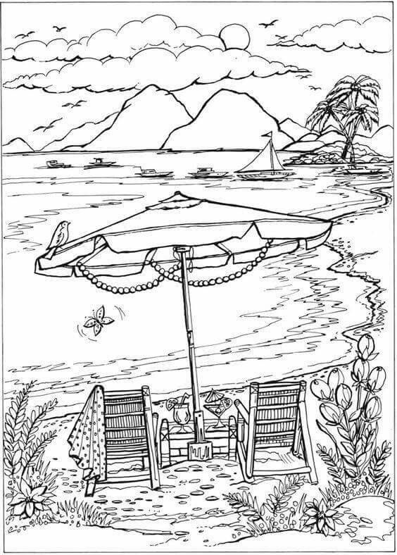 tropical pictures to color printable rainforest coloring pages at getcoloringscom color pictures to tropical
