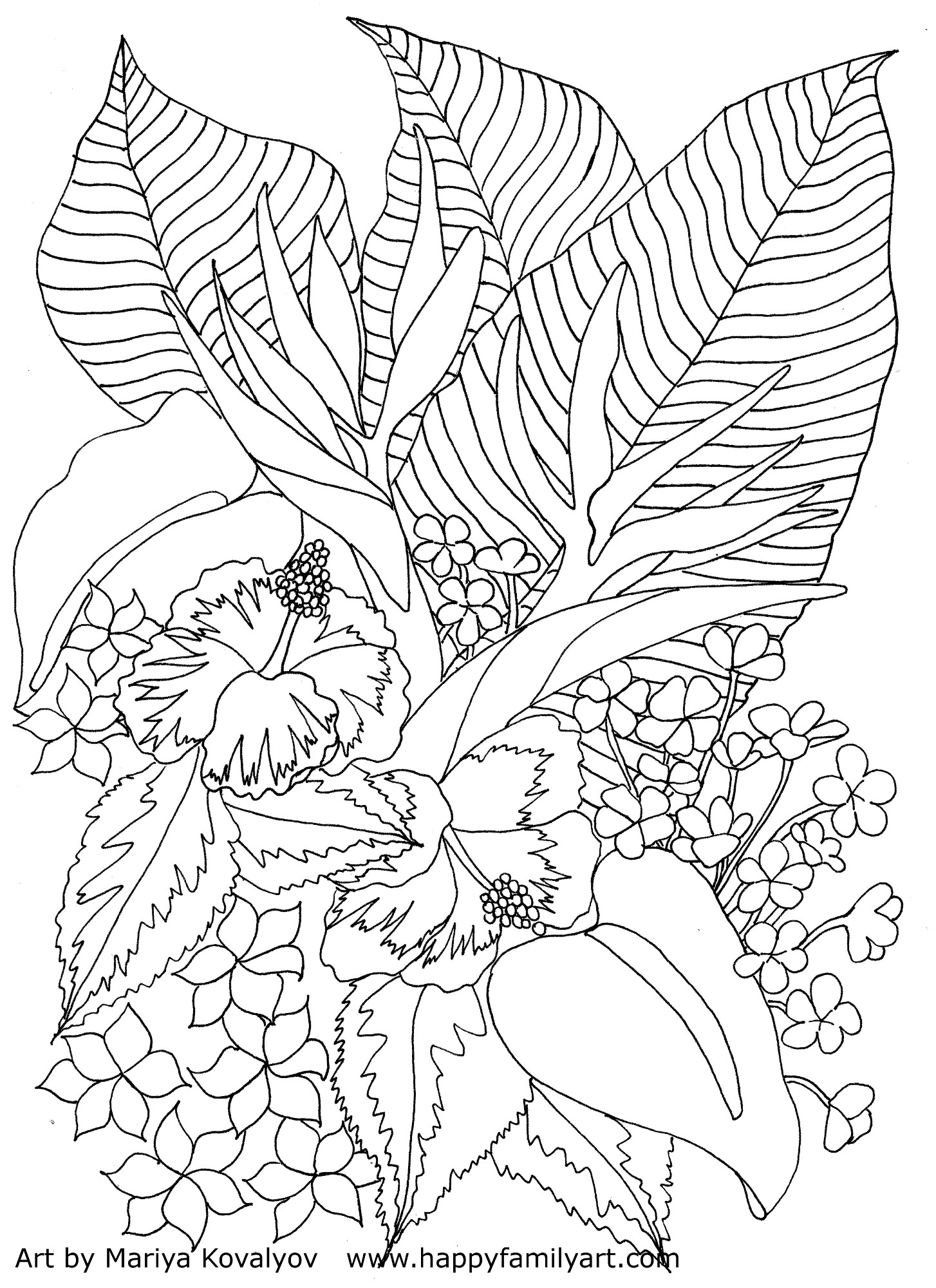 tropical pictures to color two toucans coloring page free printable coloring pages to tropical color pictures