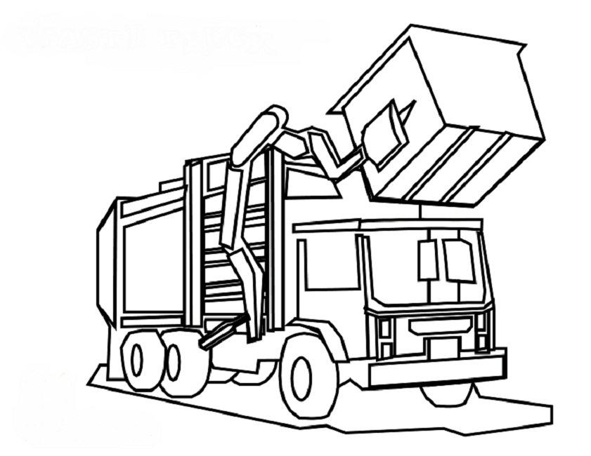 truck coloring pages to print dump truck coloring pages to download and print for free to truck coloring pages print