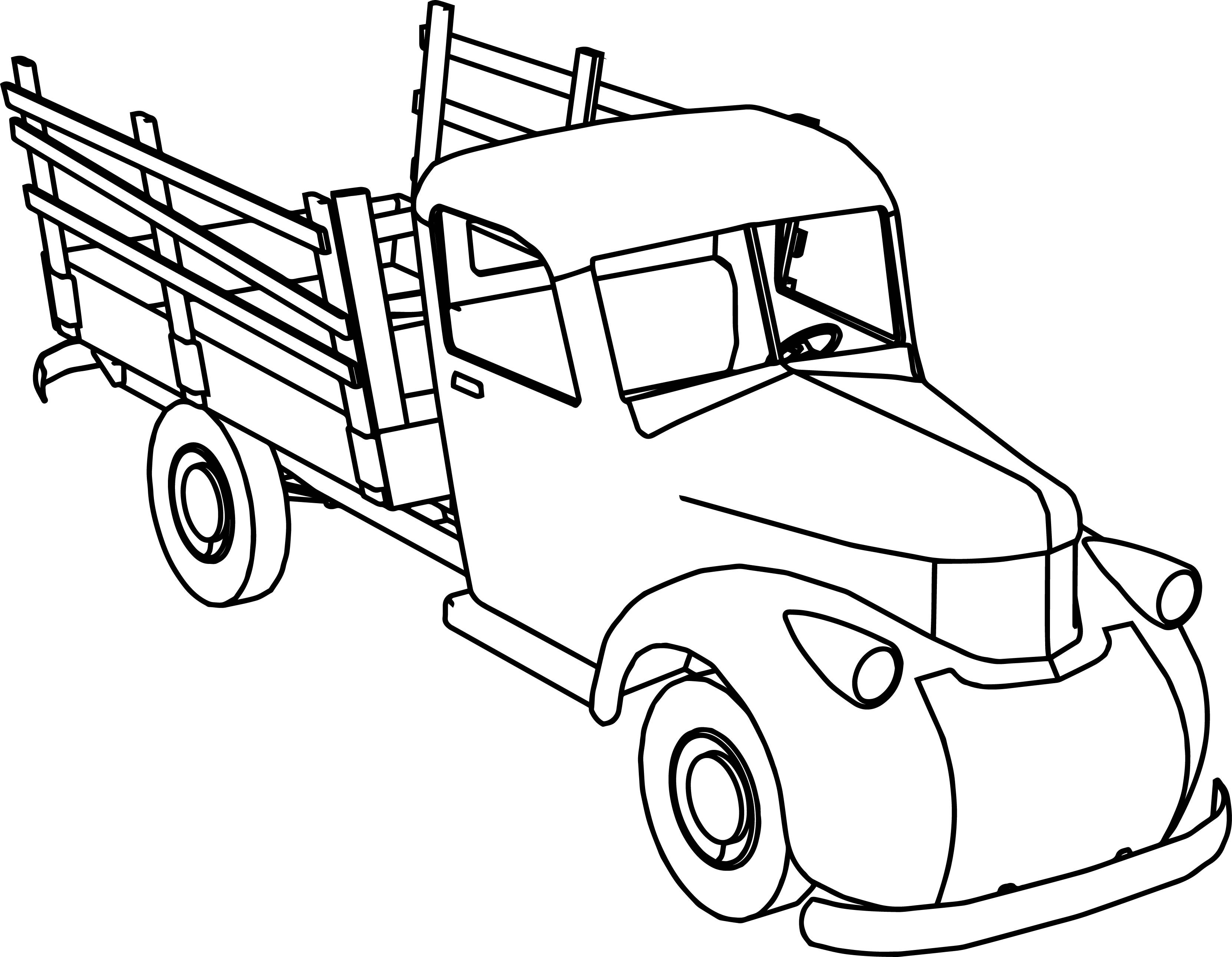 truck coloring pages to print gmc truck coloring pages at getcoloringscom free to print pages coloring truck