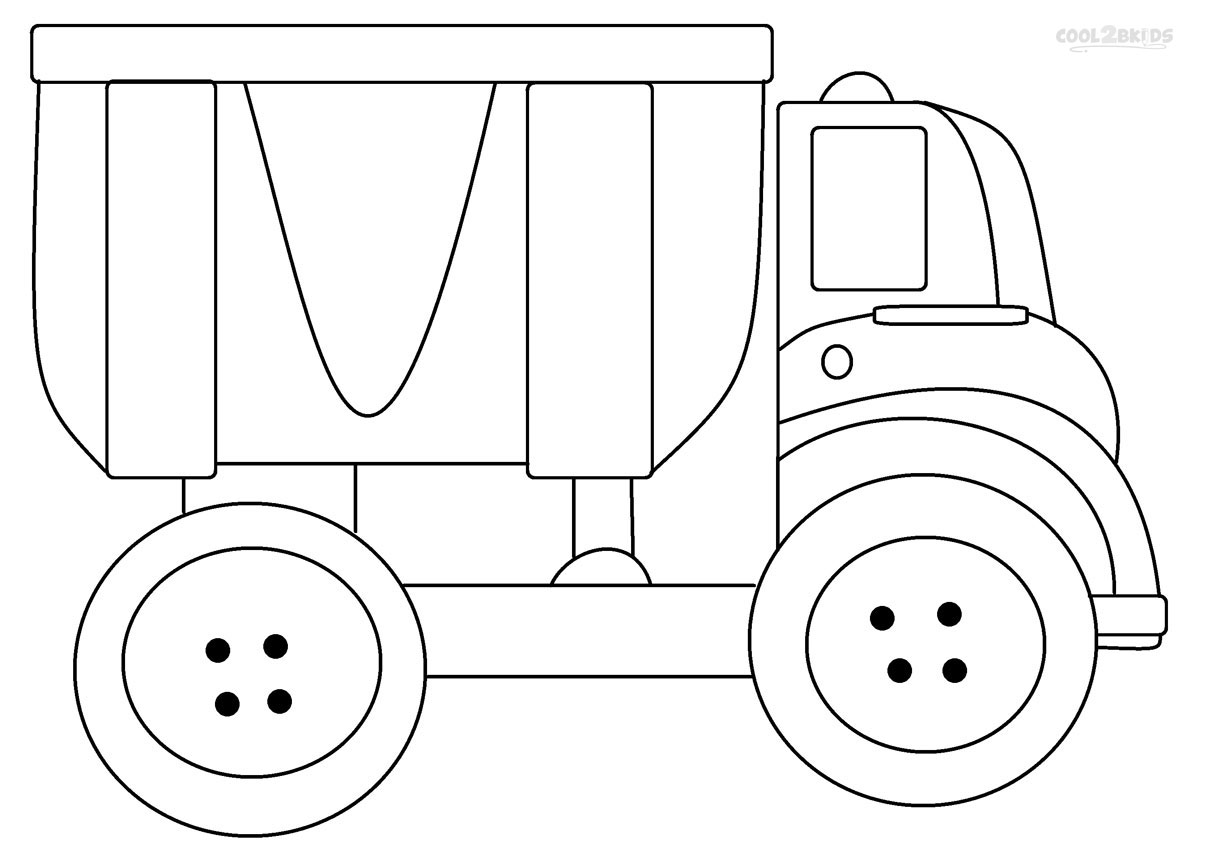truck coloring pages to print printable dump truck coloring pages for kids cool2bkids coloring pages truck to print