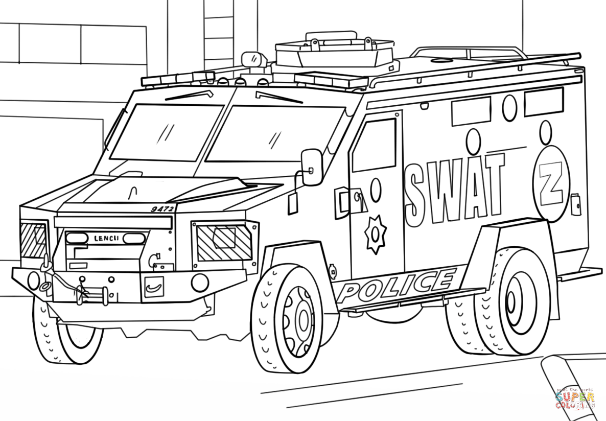 truck coloring pages to print swat truck coloring page free printable coloring pages coloring to truck print pages