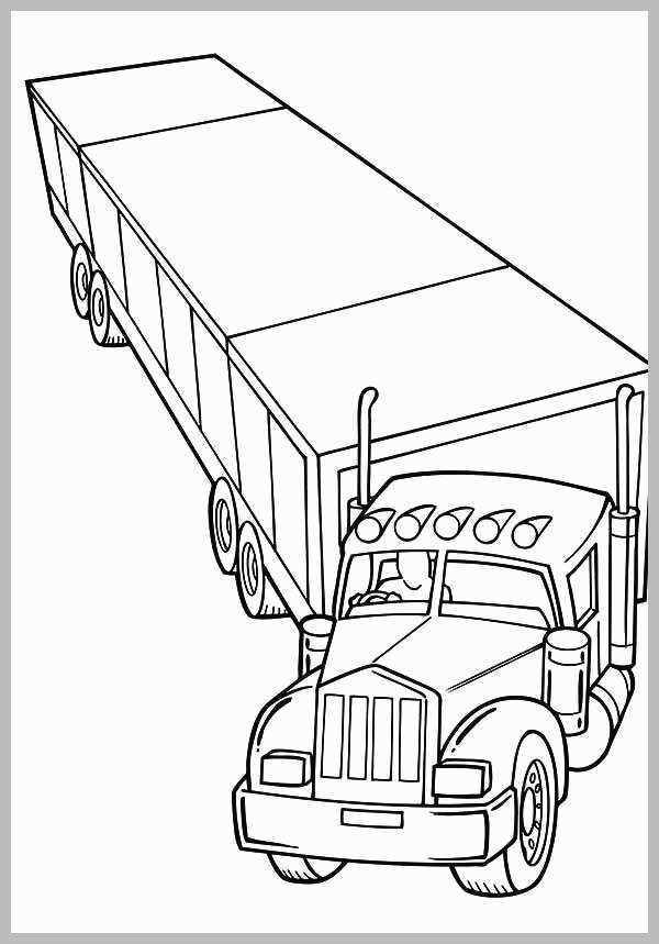 truck with trailer coloring pages car carrier trailer coloring pages coloring pages to coloring truck with trailer pages
