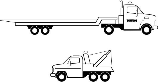 truck with trailer coloring pages livestock trailer pages coloring pages with coloring truck trailer pages