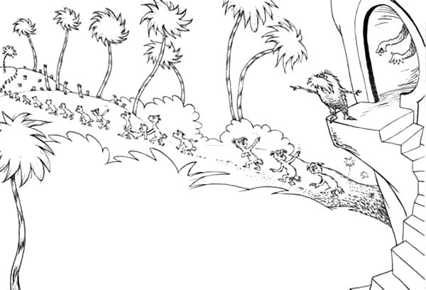 truffula tree coloring page the lorax trees coloring pages tree coloring page lorax page coloring truffula tree