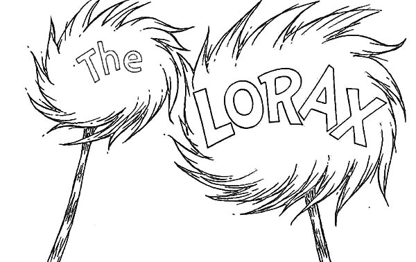 truffula tree coloring page the lorax39s truffula trees recipe dishmaps coloring truffula tree page