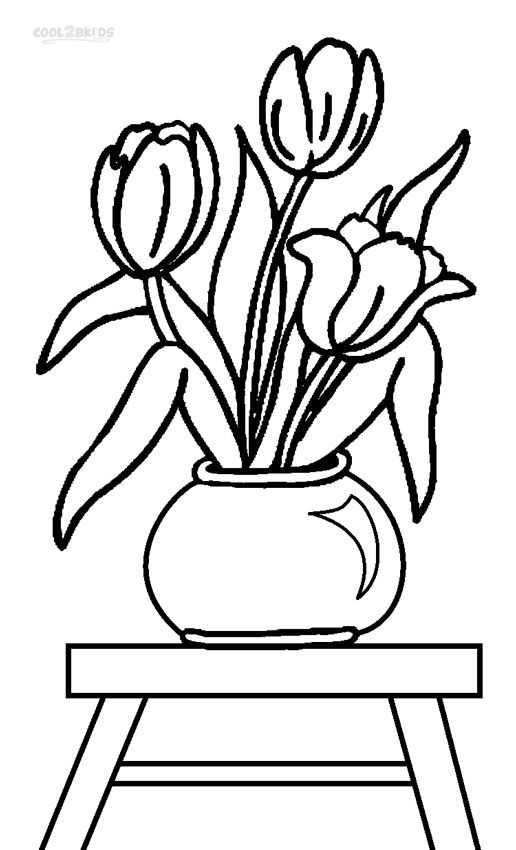 tulip flower coloring pages coloring pages of tulip flower tulip flower pages coloring